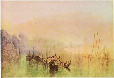 Approach to Venice by Turner