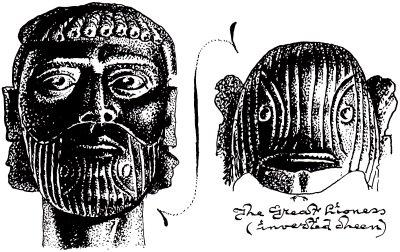 Etruscan funerary portrait